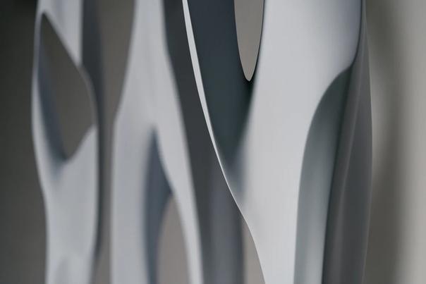 Футуристические скульптуры современного художника Даниэля Закха
