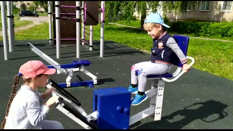 спортивная площадка в Дрезне