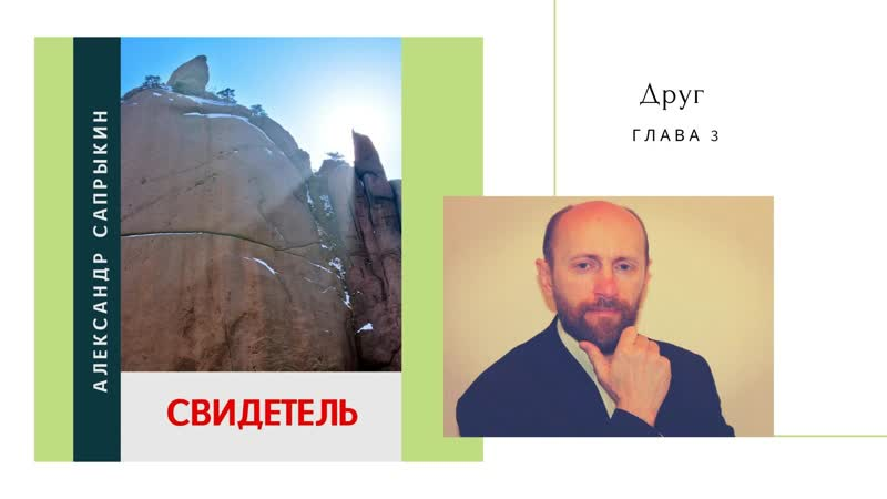 Друг глава 3 из книги Свидетель Александр Сапрыкин автор