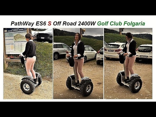 PathWay ES6 S Off Road Golf Club Folgaria www.personaltransporter.it