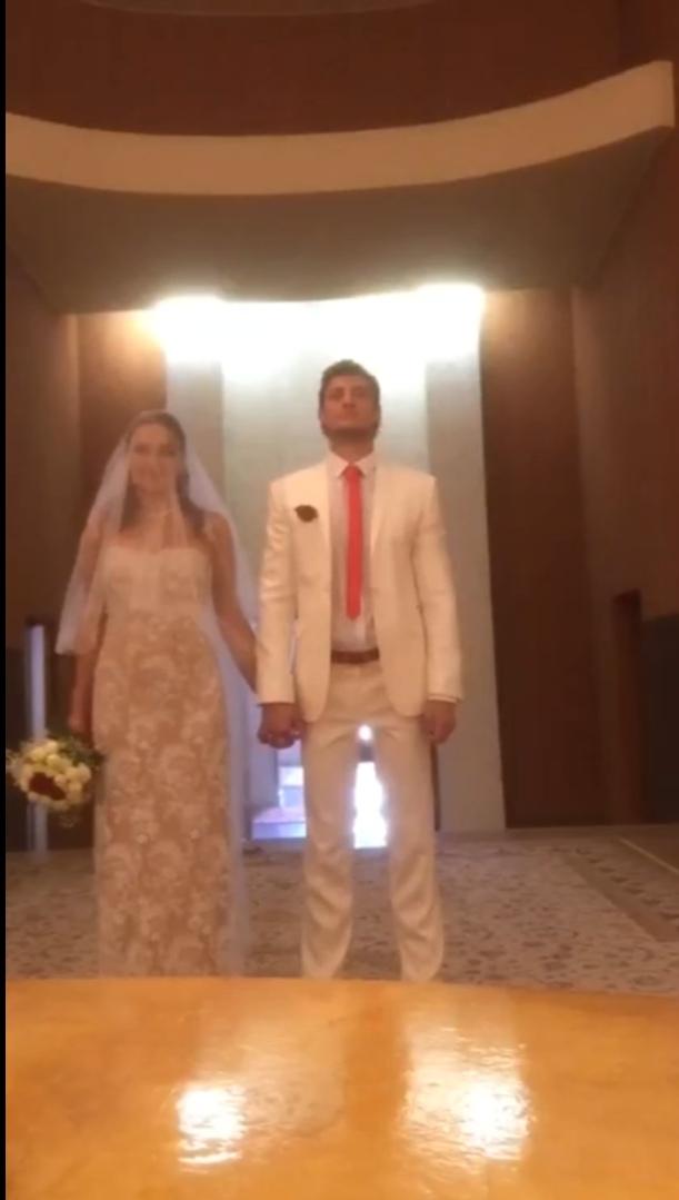 Александр Задойнов впервые женился