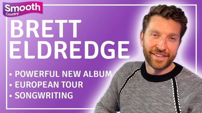 Brett Eldredge teases new ALBUM new music and talks his tour Smooth Country Interview