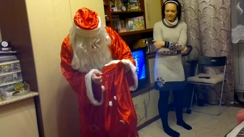 Дед Мороз у Полины декабрь 2012