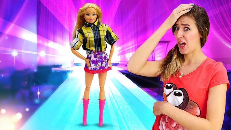 Desfile de moda de Barbie Ropa y accesorios de Barbie Vídeos de Barbie en español