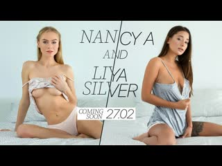 [AGirlKnows / LetsDoeIt] Nancy A & Liya Silver - Stunning lesbians in intense action [, Babe, Blonde, Brunette]