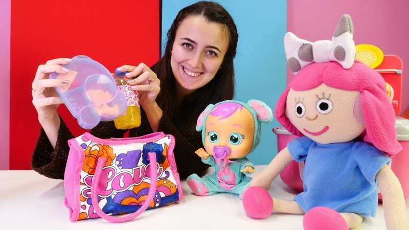Bebek bakma oyunları Smarta için beslenme çantası hazırlıyoruz Çocuklar için
