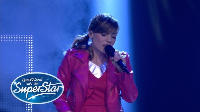 DSDS 2018 Marie Wegener mit Break Free von Ariana Grande ft Zedd Finale