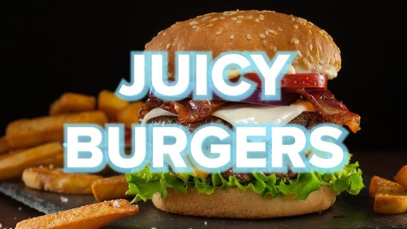 9 Juicy Homemade Burger Recipes Tasty