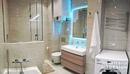 Совмещенный санузел с ванной комнатой и душевой!