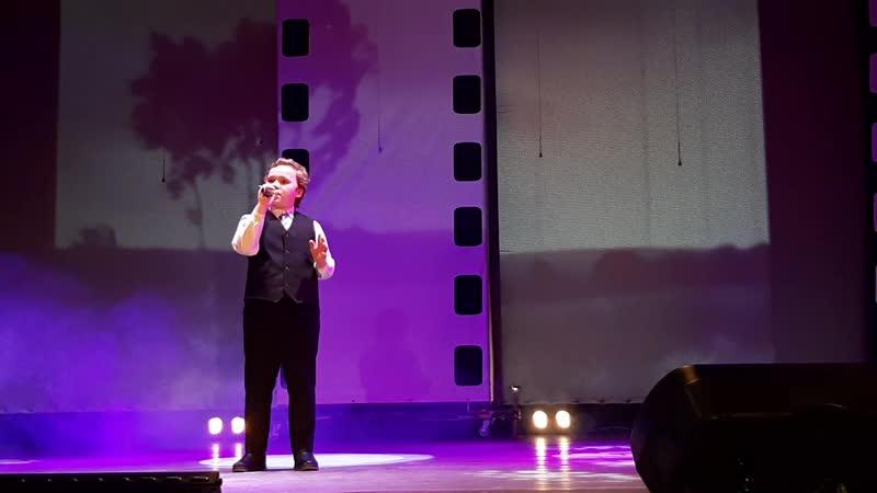 Саша с песней На безымянной высоте на фестивале О мужестве о доблести о славе 23 02 2020