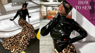 I Redesigned Cat Women's Catsuit | Cosplay Costume Tutorial