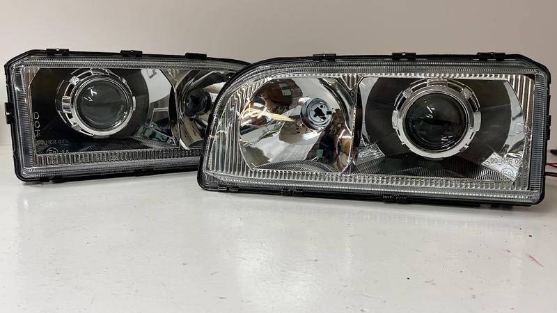 Volvo P1 Retrofit Headlights - 850R Bi-Xenon projectors