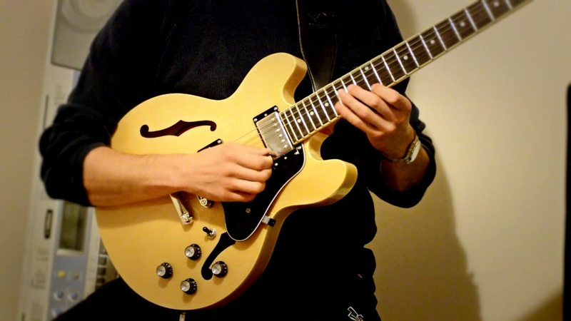 How high the moon Epiphone Es 339 Jazz improvisation