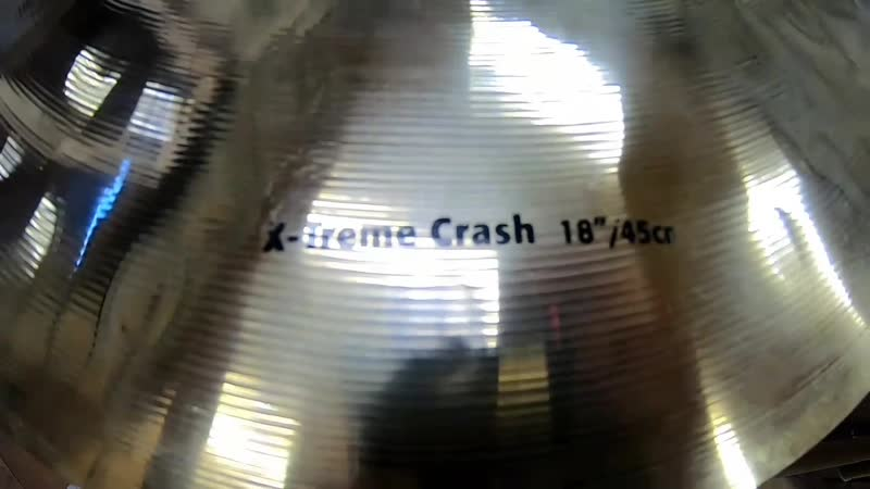 Sabian HHX X Treme Crash 18 глазами GoPro