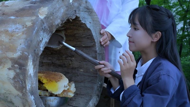 How to make a Chinese herbal honey? 长白山人参蜜:众参皆苦,而我是甜的|Liziqi channel