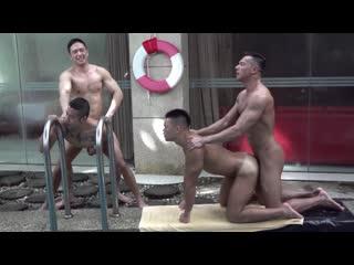 OnlyFans - Pool Party Orgy - Ryuji  Duncan Ku