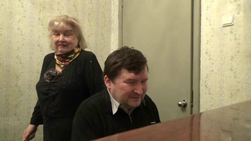 Людмила Синёва Музыка неизвестного автора .слова Л. Синёвой Танго Куст сирени