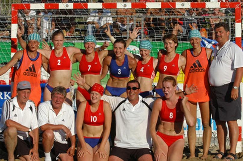Сборная России — чемпион Европы-2004 по пляжному гандболу