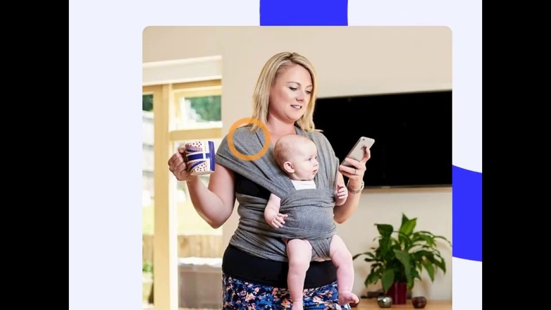 Soft Healthy fabric baby carrier baby Wrap Carrier
