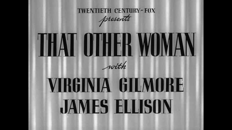 That Other Woman 1942 comedy in english eng