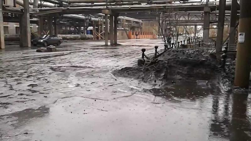 Апрельский дождь. 6.04.2012 г.Братск