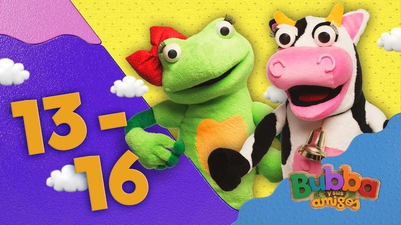 Mono Bubba y sus amigos Episodios 13 16 Videos infantiles