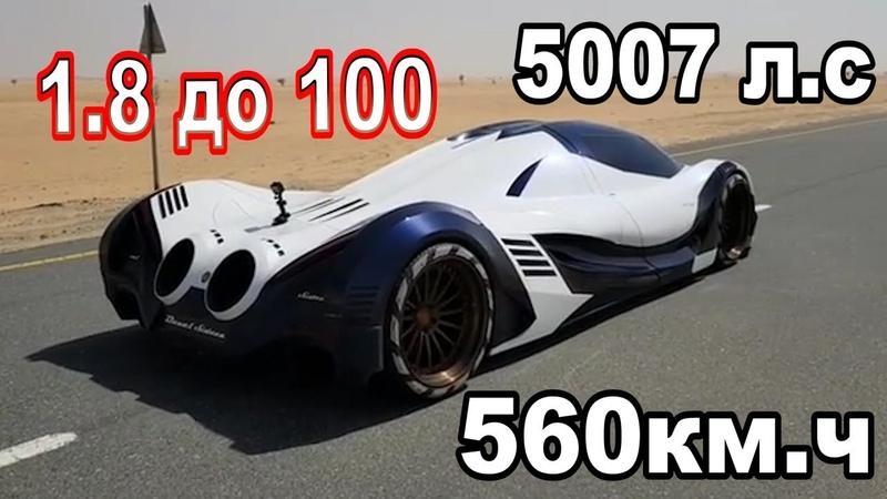 Devel Sixteen 5000 H.P V16, стоимость 2.2 млн$. РАЗОБЛАЧЕНИЯ