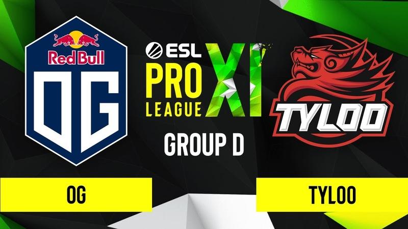 CSGO - OG vs. TYLOO [Inferno] Map 1 - ESL Pro League Season 11 - Group D