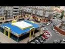 спортзал во дворе новых домов в Ростове на Дону
