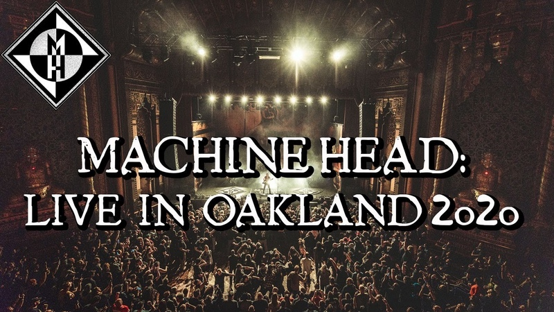 Machine Head Live at The Fox Theater Oakland CA