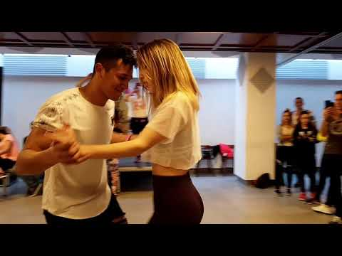 Sed de ti - Dustin Richie ( WorkShop Bachata Fusión By Yexy Jr. Judit Jove )
