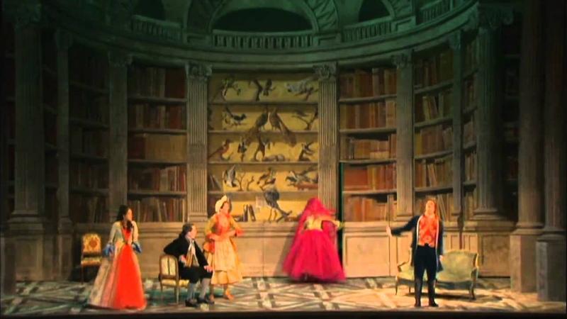 Amant Jaloux Gretry Acte 1 Final Quatuor Plus d'égards plus de prudence