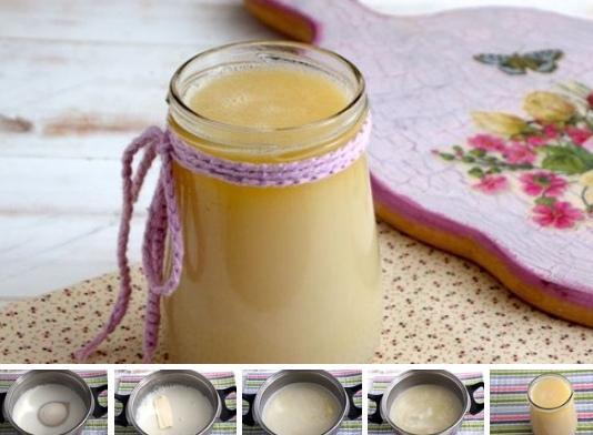Домашнее сгущенное молоко (экспресс-метод за 15 минут)