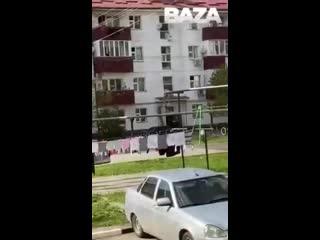 Как в Чечне разгоняют нарушителей самоизоляции.