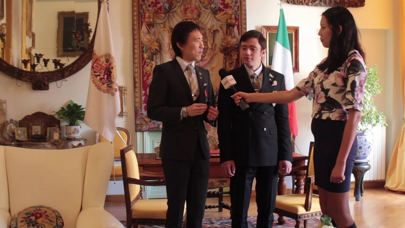 It was for celebrate 1st anniversary of inheritance for His Majesty as the Grand Duke Borbone