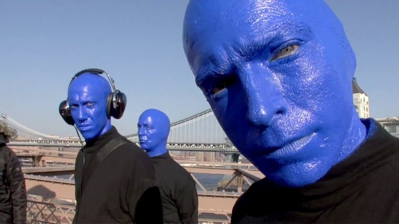 We Mixed Sounds LIVE on the Brooklyn Bridge   Blue Man Group - Capturing Sounds in New York