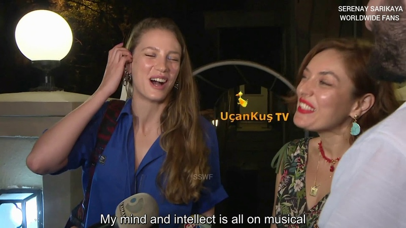 Serenay Sarıkaya and Ezgi Mola Interview with english subs