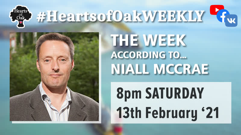 The week according to Niall McCrae