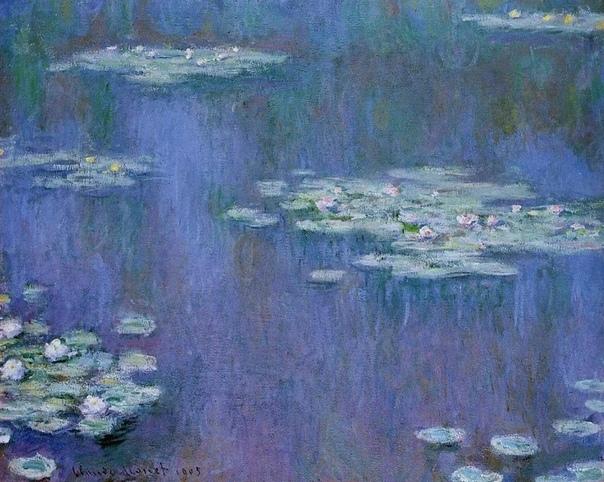 Водяные лилии Клода Моне. Гениальность или катаракта