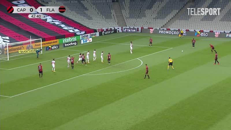Атлетико Паранаэнсе Фламенго 1 0 Кубок Бразилии 1 8 финала Обзор матча все голы