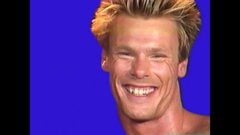 Gachimuchi Daniel's smile on a blue screen Улыбка Дэниэля на синем экране
