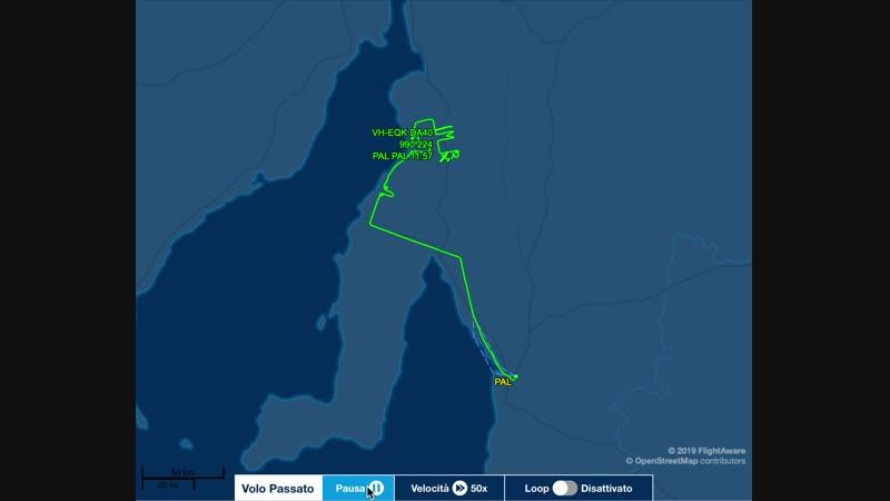 В Австралии пилот написал в воздухе «Мне скучно» (и нарисовал пенис)