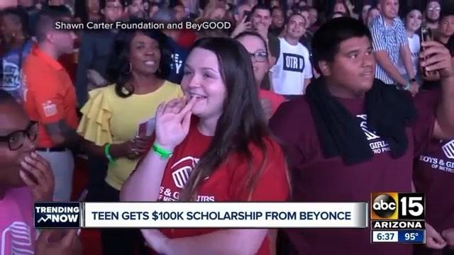 """PE✪PLETALK.RU on Instagram: """"Как трогательно! Бейонсе и Джей Зи подарили фанатке 100 тысяч долларов на обучение в колледже прямо во время концерта ..."""