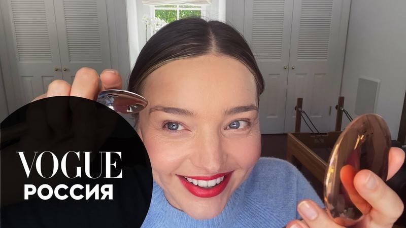 Миранда Керр показывает как накраситься на свидание