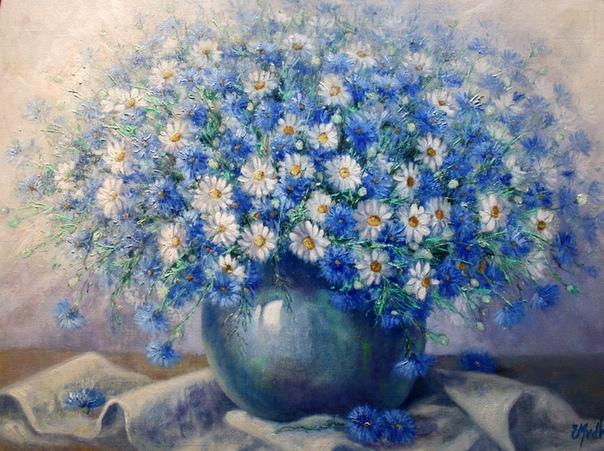 Художник Edith Van Der Wissel родилась в феврале 1944 года в городке Arnhem (Нидерланды