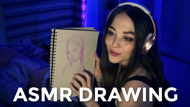ASMR DRAWING SCRATCHING SOUNDS TO HELP YOU RELAX