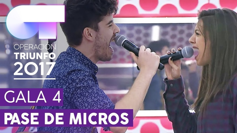 THERE'S NOTHING HOLDING ME BACK - Ana G y Roi | Primer pase de micros para la Gala 4 | OT 2017