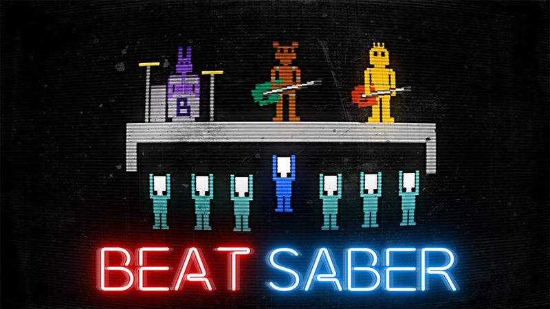Its Been So Long - The Living Tombstone (FNAF 2 Song) by Monteblanco | Beat Saber [Expert] FC