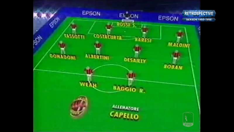 Serie A 1995-96, g23, Juve - AC Milan