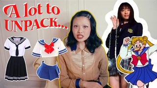 let's talk about the Japanese Schoolgirl